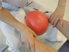 後脛骨筋の筋トレ写真