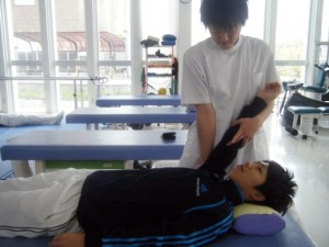 関節可動域訓練