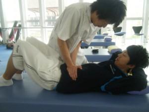 筋力トレーニングの写真